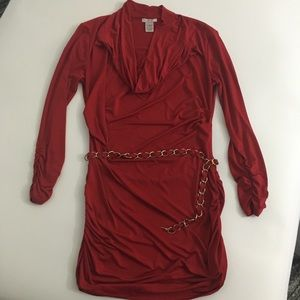 Cache Blouse Red Size Small